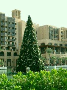 dubai christmastree Mina A Salam